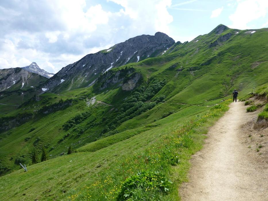 Klettersteig Tannheimer Tal : Klettersteig lachenspitze c d tour