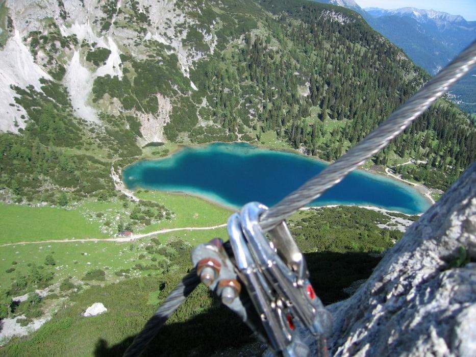 Klettersteig Ehrwald : Klettersteig von leutasch zum tajaköpf nach ehrwald tour