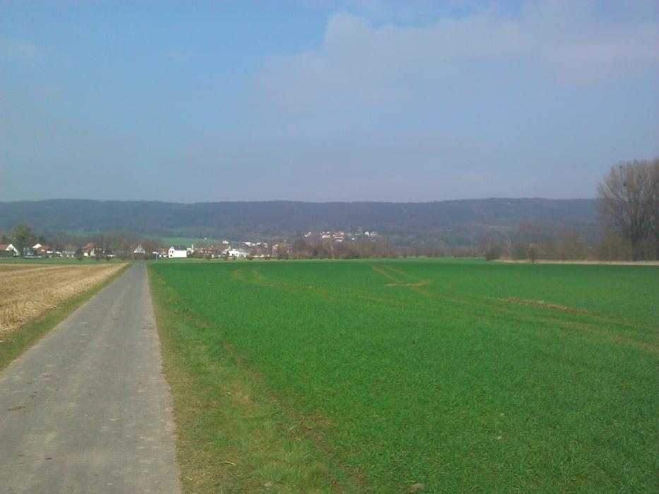 fahrrad touring weserradweg bad oeynhausen minden und zur ck tour 97072. Black Bedroom Furniture Sets. Home Design Ideas