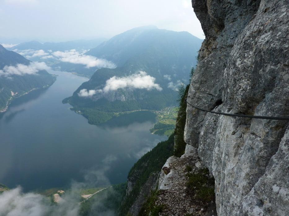 Klettersteig Seewand : Klettersteig: hallstatt seewand klettersteig 20100626 tour 60719