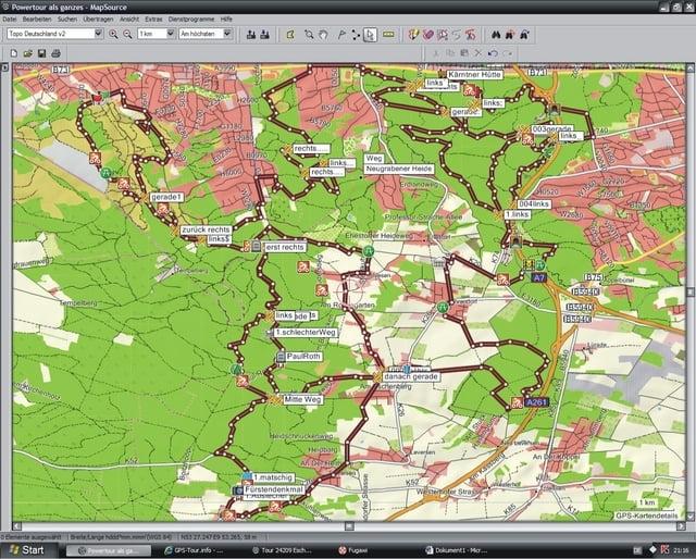 Höhenmeter Karte.Mountainbike Die 1000 Höhenmeter Tour Tour 24336