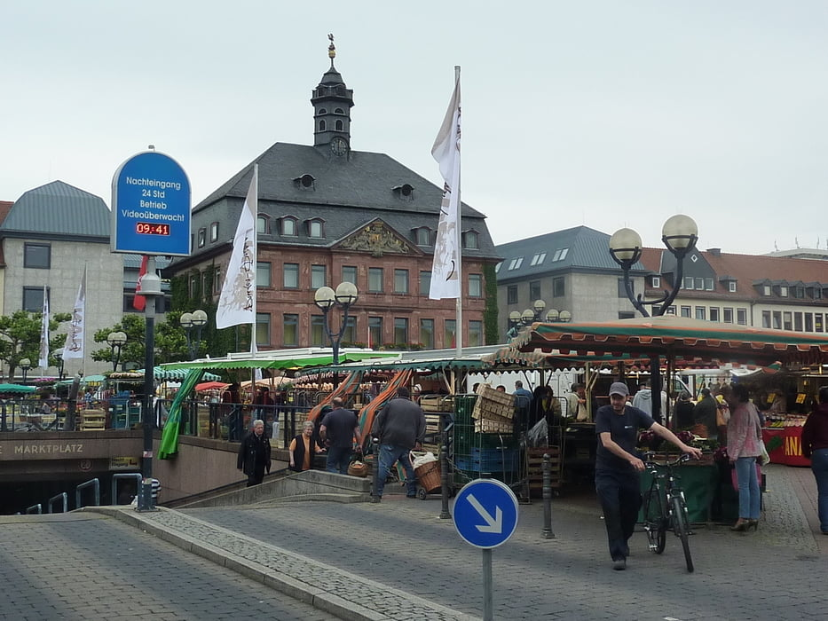Fahrrad Touring: BahnRadweg Hessen 01 Hanau Glauberg