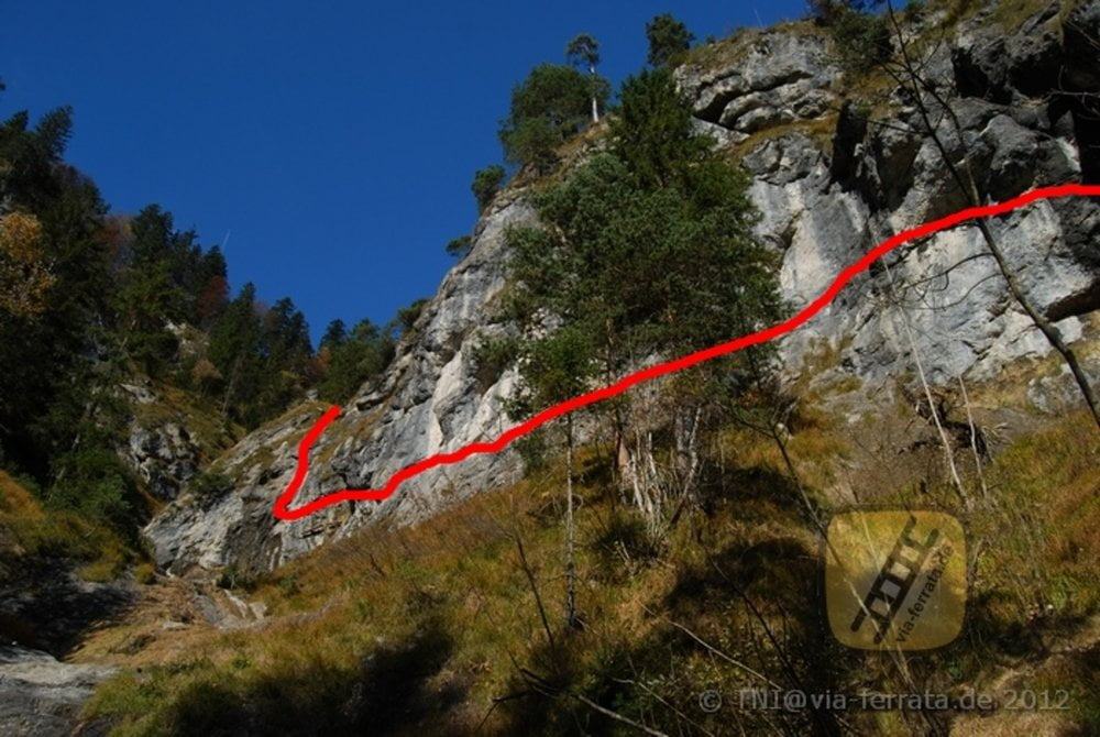 Klettersteig Hausbachfall : Klettersteig hausbachfall tour