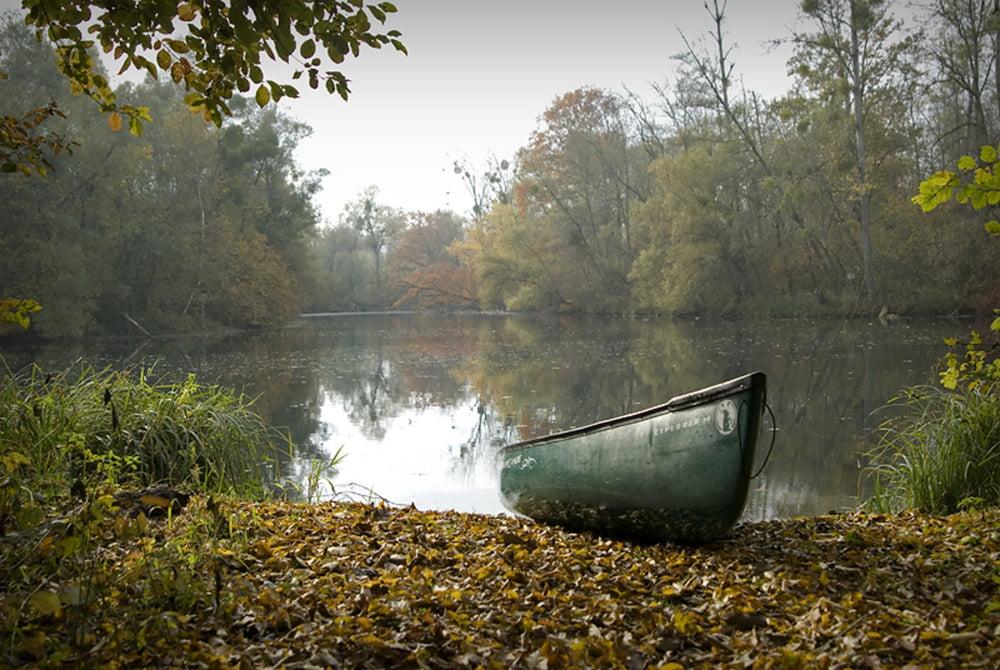 Altrhein Kanu