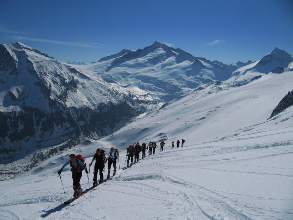 skitour schlieferspitze 3288 m am gro venediger tour 76890. Black Bedroom Furniture Sets. Home Design Ideas