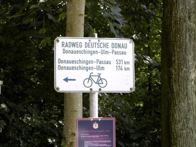 Donauradweg Ulm Passau Karte.Trekkingbike Donauradweg Donaueschingen Sigmaringen Tour