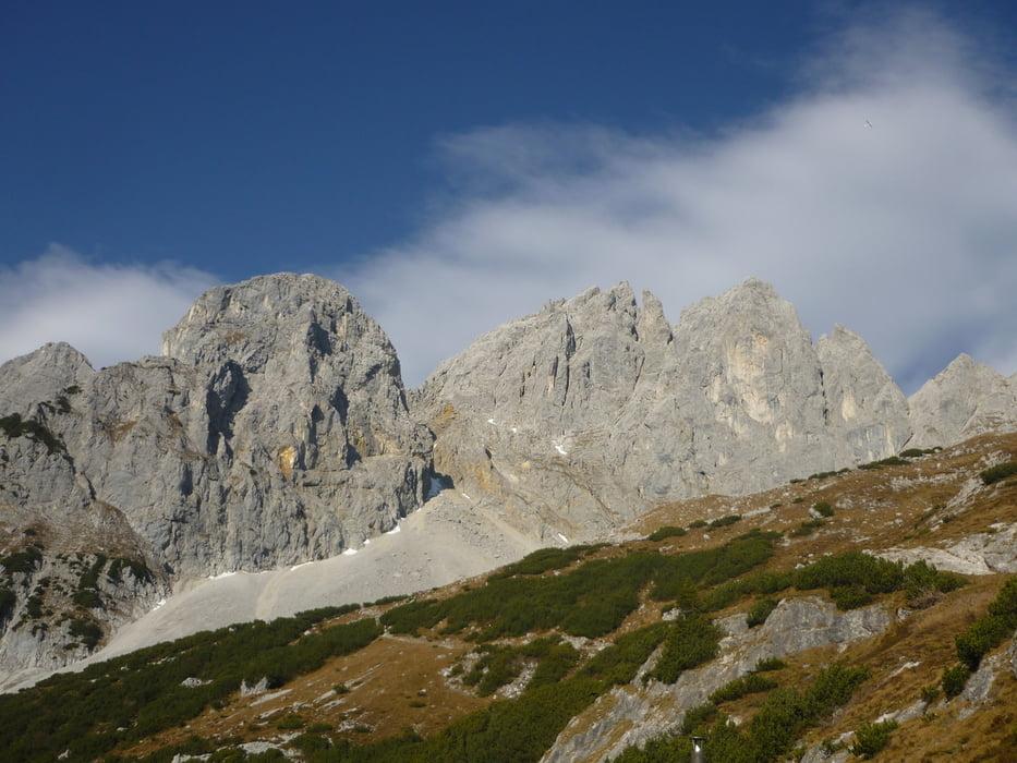 Klettersteig Ellmauer Halt : Gamsängersteig ellmauer halt wilder kaiser