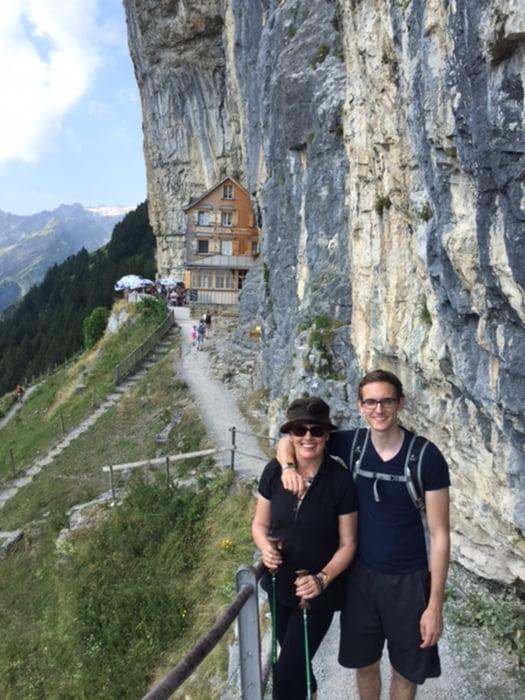 Wandern Rundweg Wasserauen Ebenalp Wildkirchli Aescher
