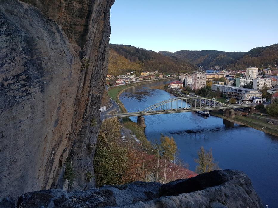 Klettersteig Decin : Klettersteig schäferwand klettersteigpark in děčín tour