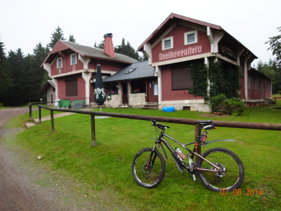 mountainbike rennsteig radweg 2 tage tour tour 137387. Black Bedroom Furniture Sets. Home Design Ideas