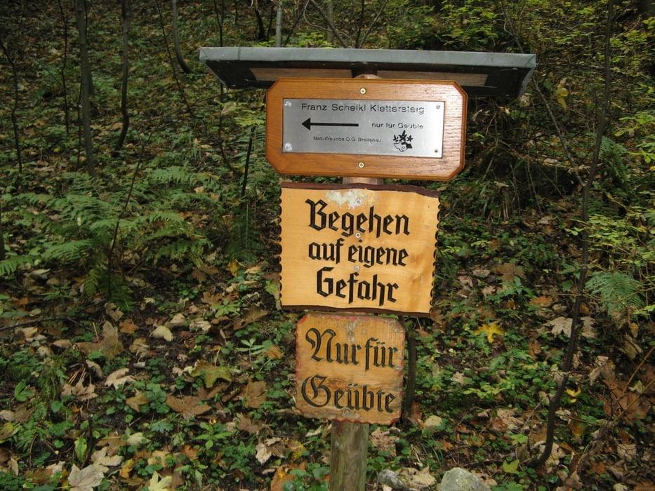 Klettersteig Hochlantsch : Klettersteig hochlantsch franz scheikl tour