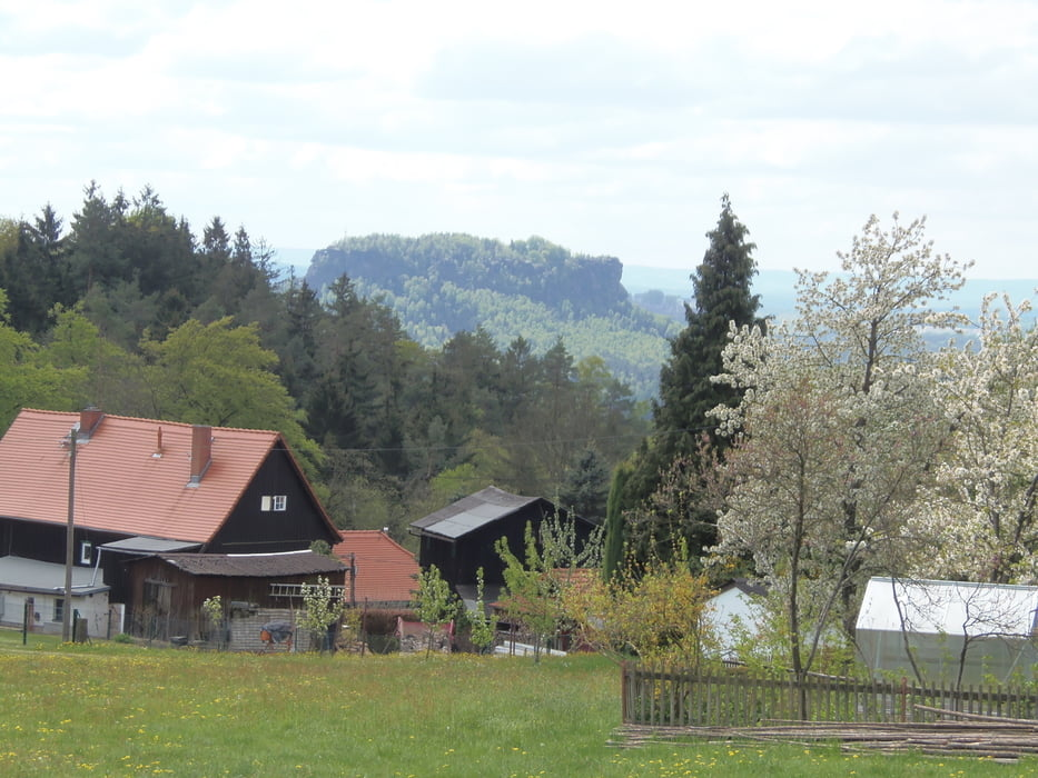 Wandern: Panorama Sächsische Schweiz von Hankehübel und Waitzdorfer ...
