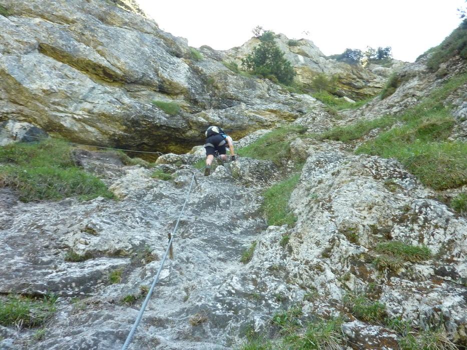 Klettersteig Walchsee : Mountainbike bike und klettersteig an der ottenalm tour