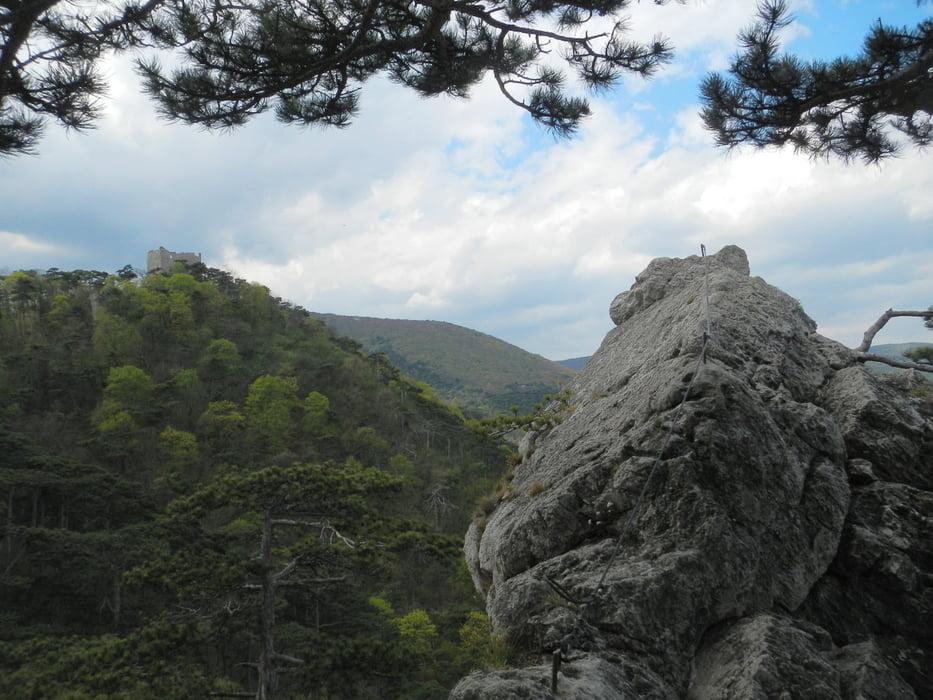 Klettersteig Mödling : Mödlinger klettersteig