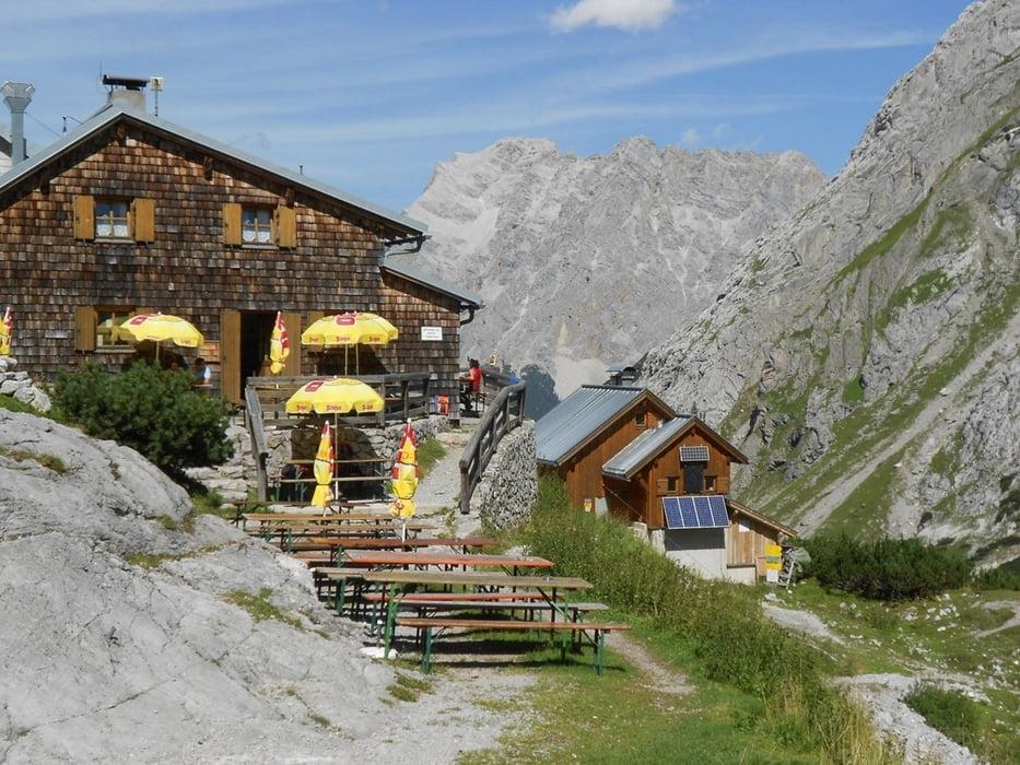 Klettersteig Coburger Hütte : Mountainbike coburger hütte von leutasch aus tour