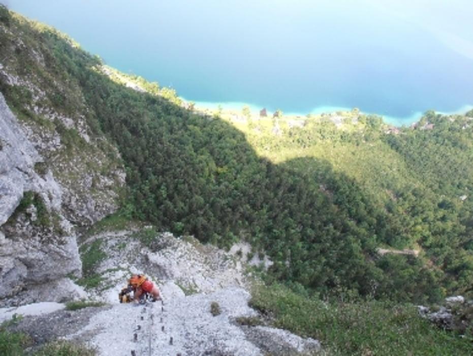 Klettersteig Mahdlgupf : Mahdlgupf klettersteig m d und kleiner schoberstein