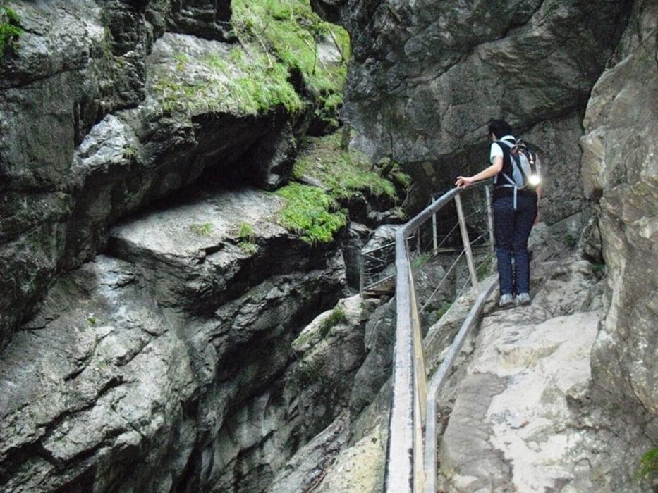 Klettersteig Immenstadt : Trekkingbike: alpsee immenstadt starzachklamm tour 90545
