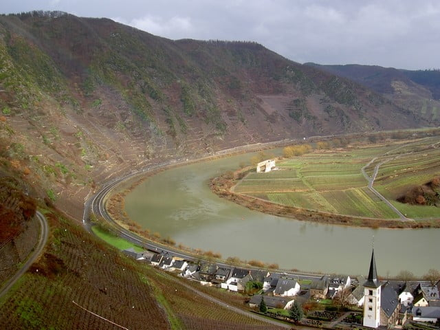 Klettersteig Mosel : Klettersteig calmont tour