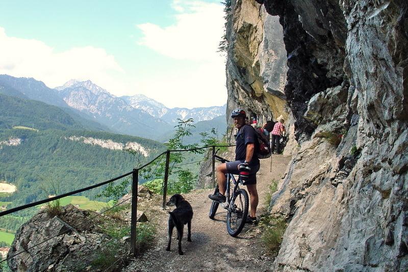 Mountainbike ewige wand h tteneck kleine runde tour - Fahrrad an die wand hangen ...