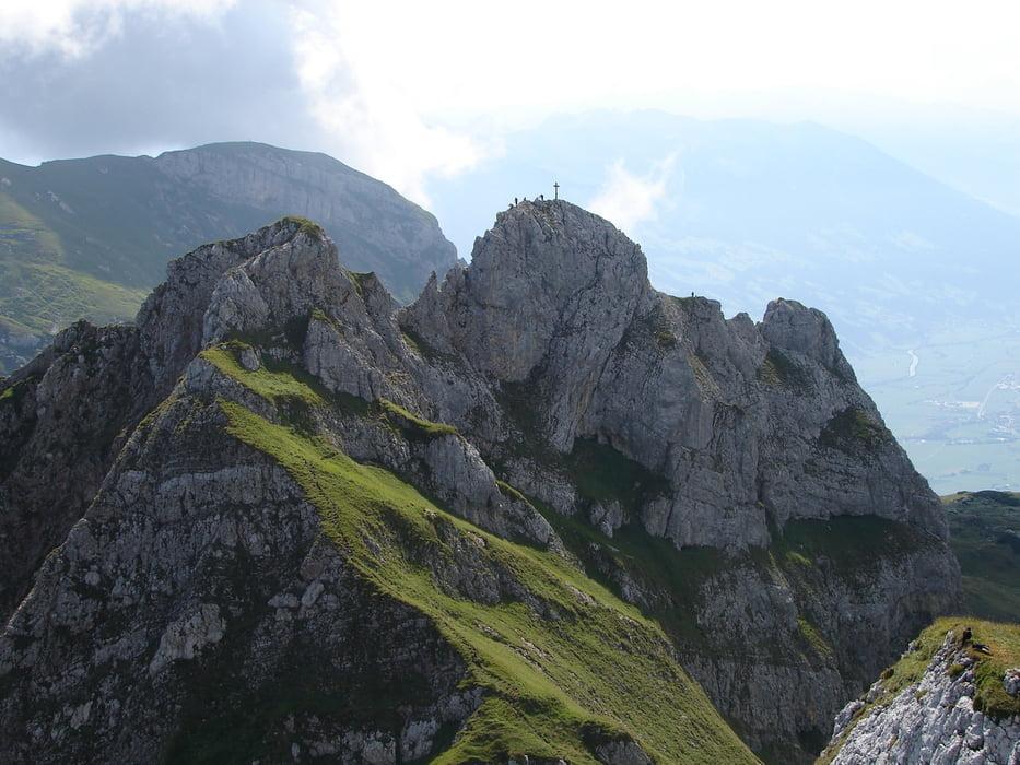 Klettersteig Achensee : Klettersteig achensee gipfel tour