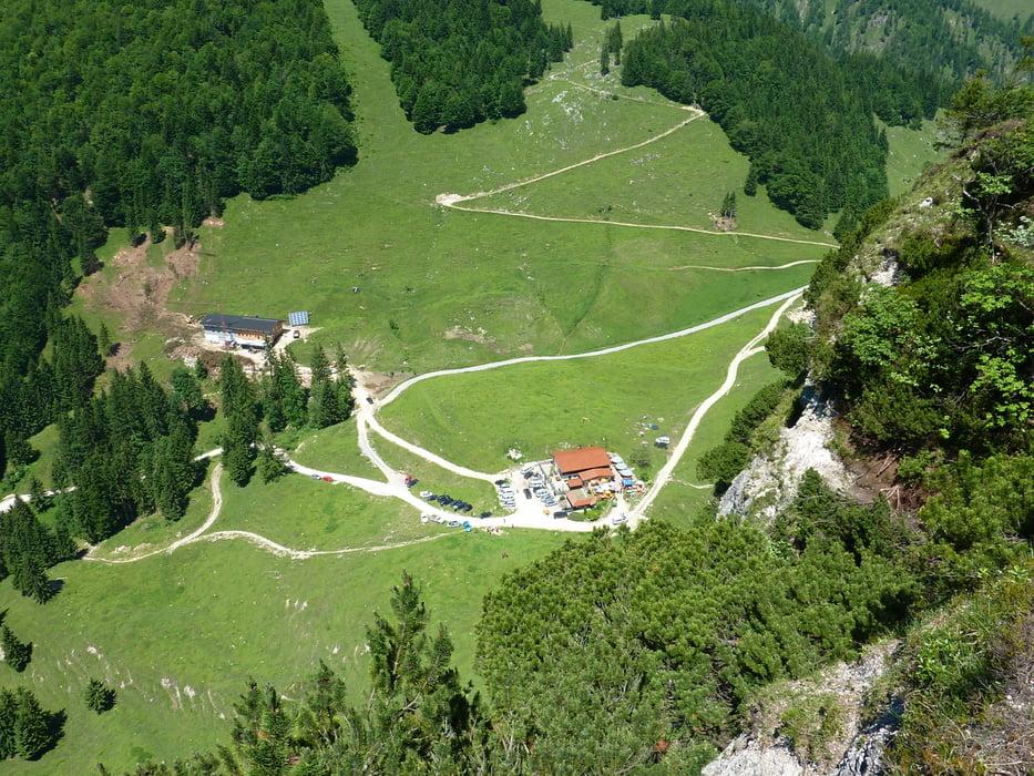 Klettersteig Ottenalm : Mountainbike bike und klettersteig an der ottenalm tour