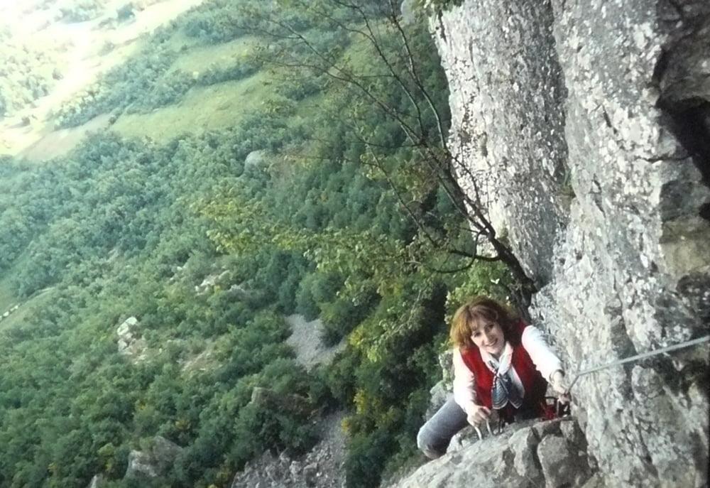Klettersteig Ferrata : Arabba klettersteig ferrata delle trincee marmolada dolomiten