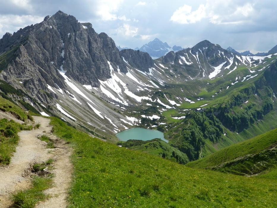Klettersteig Lachenspitze : Klettersteig: lachenspitze c d tour 120510