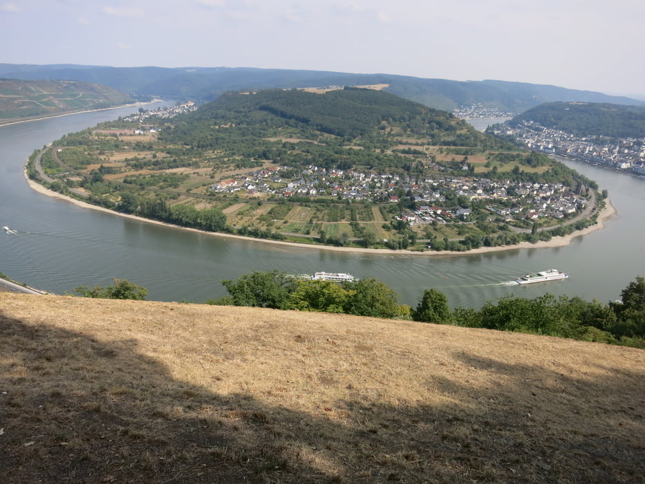 Klettersteig Rhein Boppard : Blick auf rhein und boppard mittelrhein klettersteig bei bu flickr