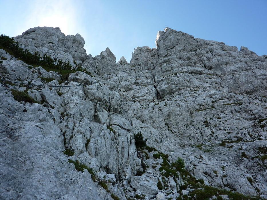 Klettersteig Kärnten : Klettersteig lärchenturm m tour