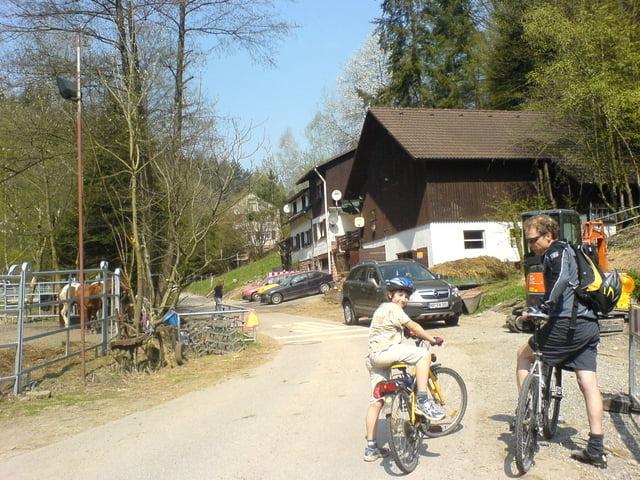 Fahrrad Touring: Neckargemünd BF Weißer Stein Heidelberg