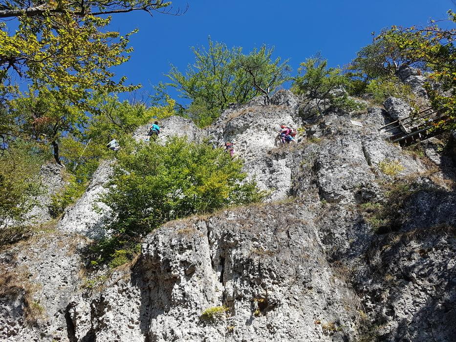 Klettersteig Höhenglücksteig : Klettersteig höhenglücksteig hollederer brücke youtube