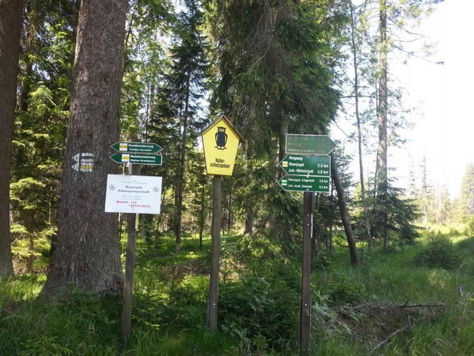 Klettersteig Johanngeorgenstadt : Wandern wandertester johanngeorgenstadt kranichsee tour