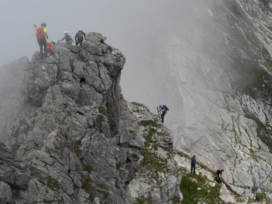 Klettersteig Oberstdorf : Klettersteige für anfänger fünf touren spaß und genuss