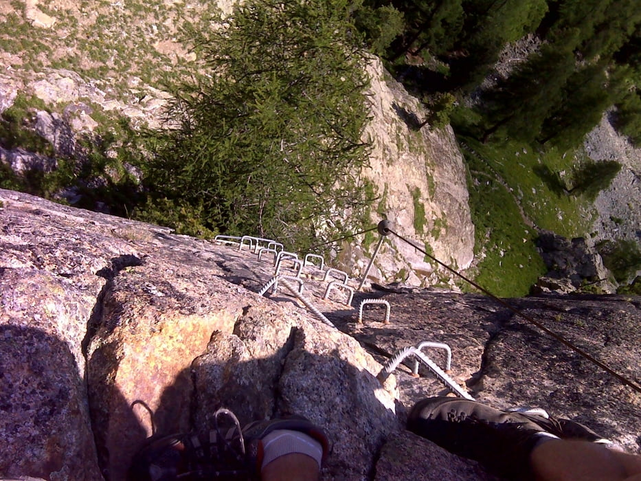 Klettersteig La Resgia : Klettersteig: la resgia pontresina tour 86843