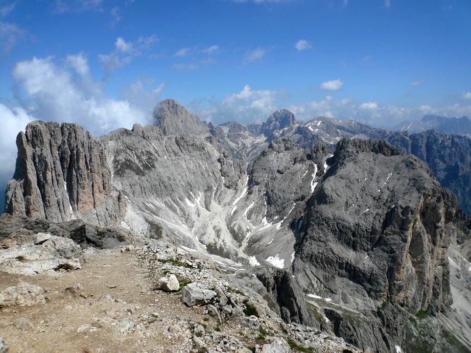 Klettersteig Rosengarten : Klettersteig: rotwand & masaré klettersteig tour 22486