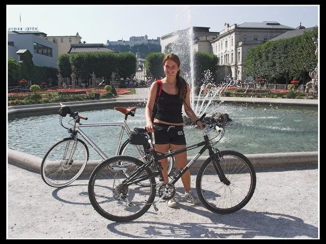fahrrad touring auf radwegen durch die stadt salzburg. Black Bedroom Furniture Sets. Home Design Ideas