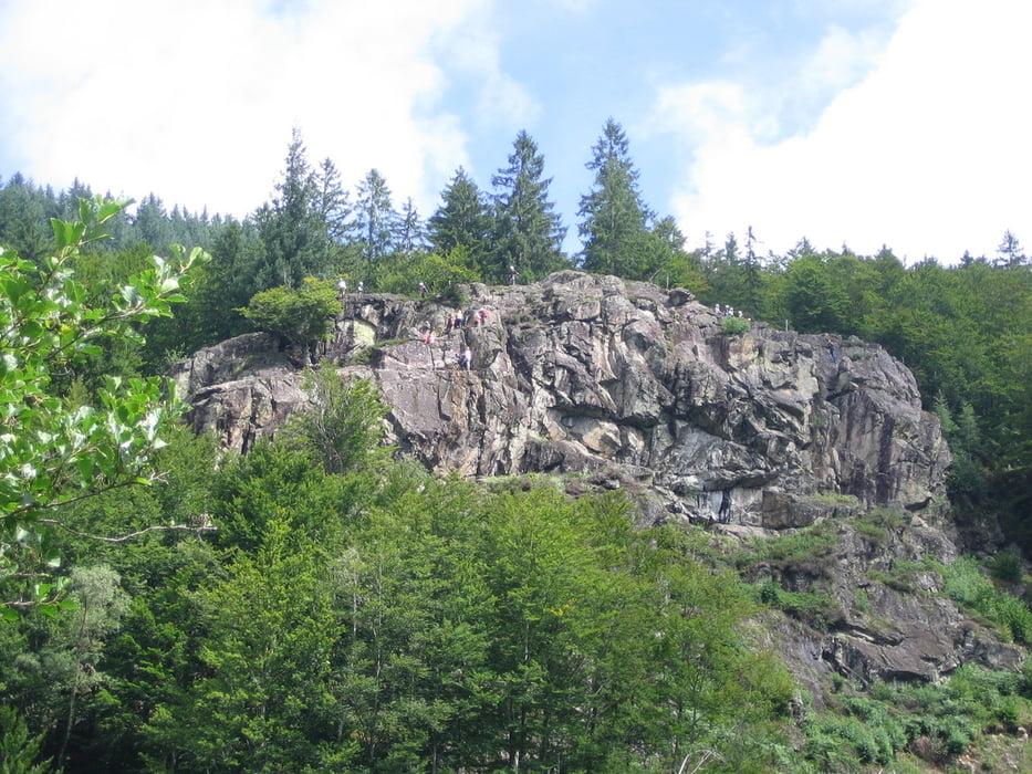 Klettersteig Schwarzwald : Klettersteig todtnau feldberg tour