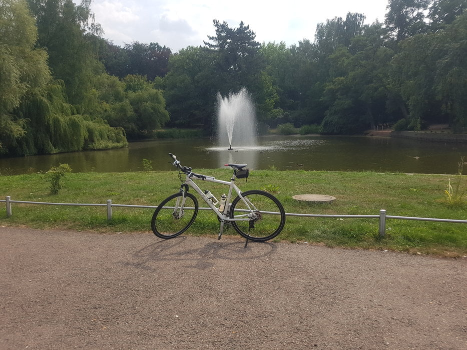 Fahrrad Touring Chemnitztalradweg Taurasteinturm Und Zuruck Tour