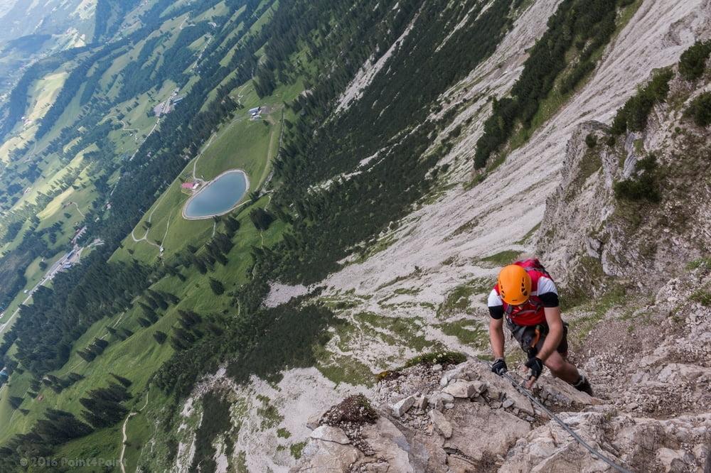 Klettersteig Iseler : Klettersteig allgäuer alpen salewa und iseler gipfel tour