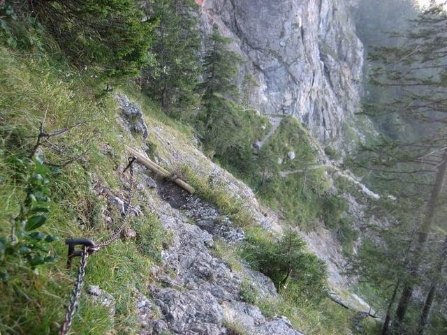 Klettersteig Gelbe Wand : Bayern ammergauer alpen tegelberg