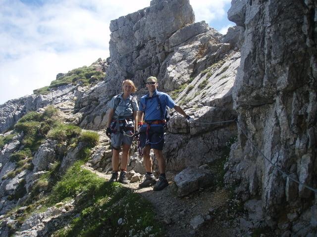 Klettersteig Deutschland : Der däumling klettersteig in den karnischen alpen nepalbrücke