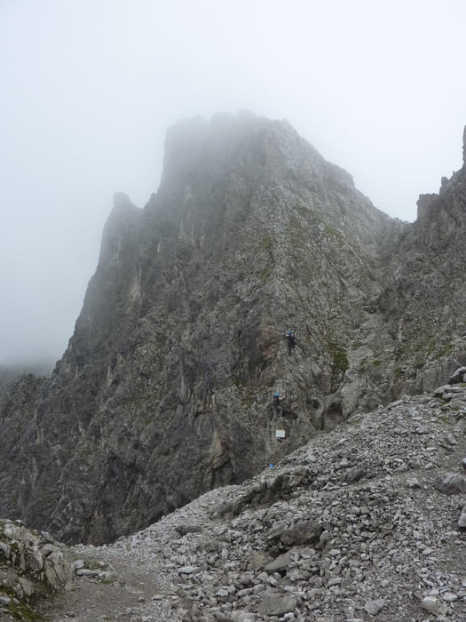 Klettersteig Nordkette : Klettersteig: nordkette tour 83284