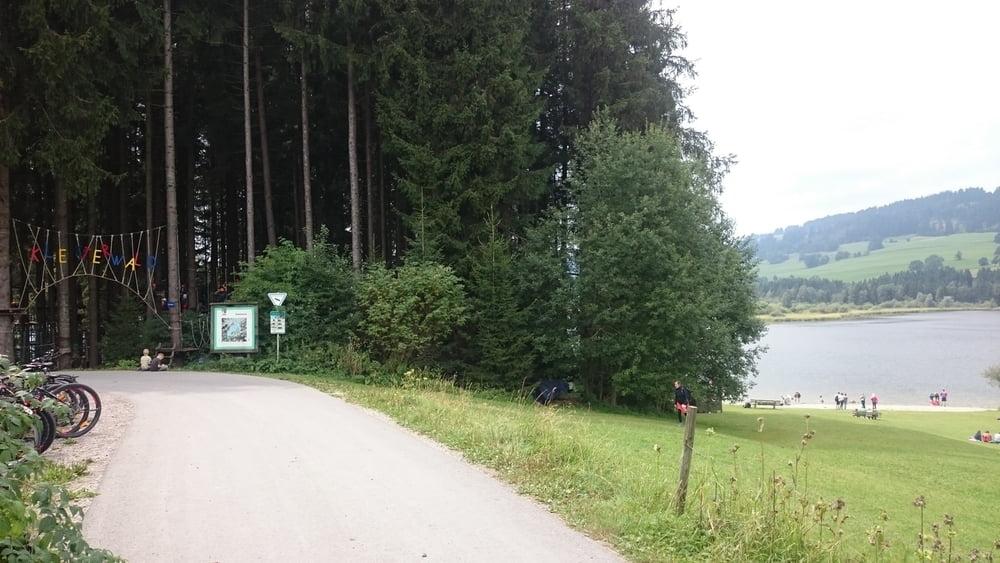 Mountainbike Gruntensee Wertach Buronhutte Haslach Tour 152685
