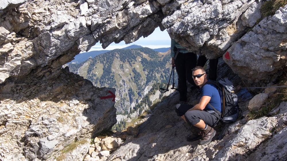 Bergtour Ammergauer Alpen Hochplatte Tour 124892