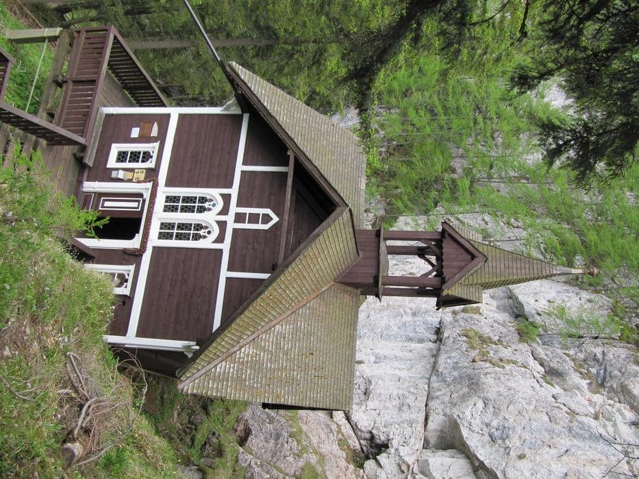 Klettersteig Hochlantsch : Klettersteig Über den franz scheikl auf