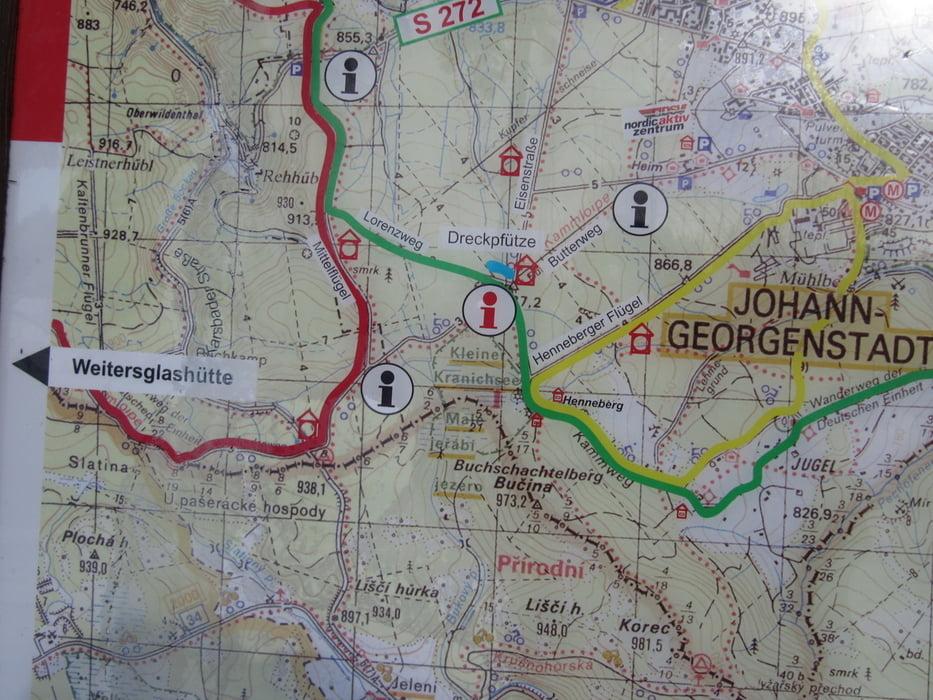 Klettersteig Johanngeorgenstadt : Langlauf ausflug von johanngeorgenstadt nach tschechien tour