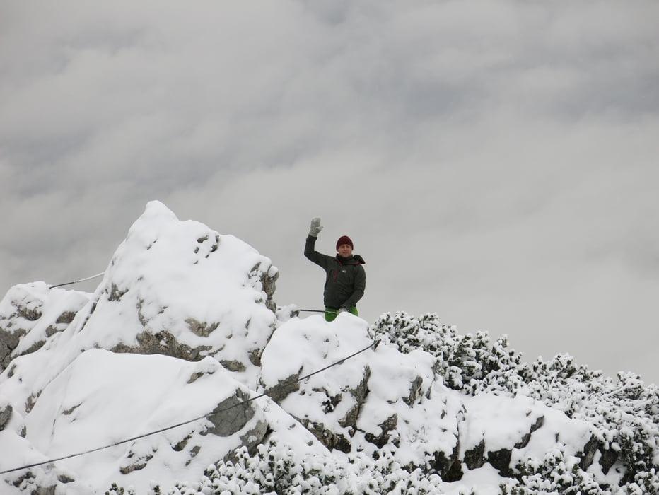 Klettersteig Katrin : Einfacher klettersteig mit traumhaften ausblick bild von katrin