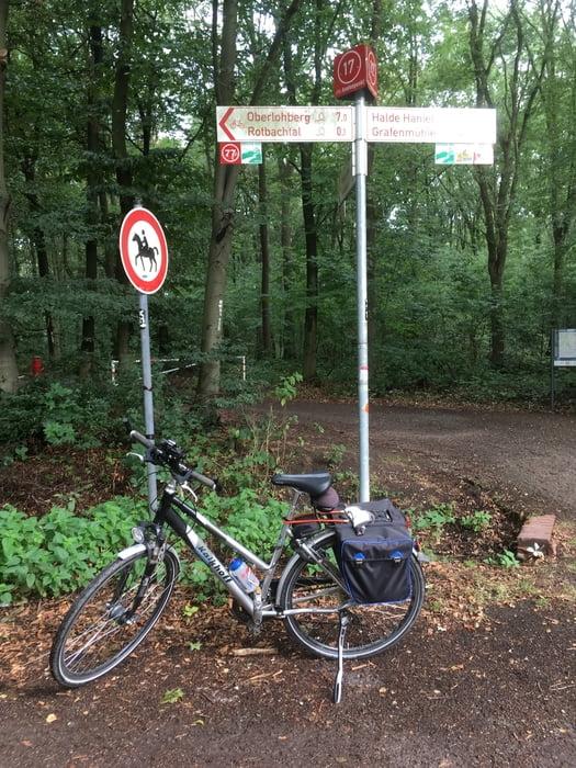 Fahrrad Touring: Rotbachroute groß und klein als acht