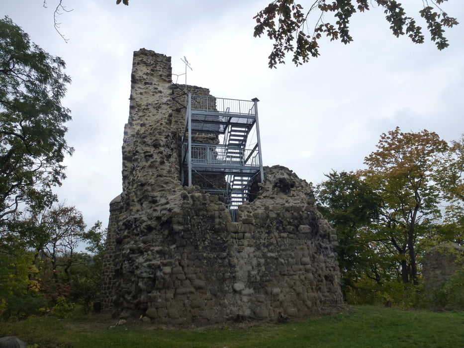 wandern gernrode preu enturm lauenburg b ckem hle tour 146254. Black Bedroom Furniture Sets. Home Design Ideas