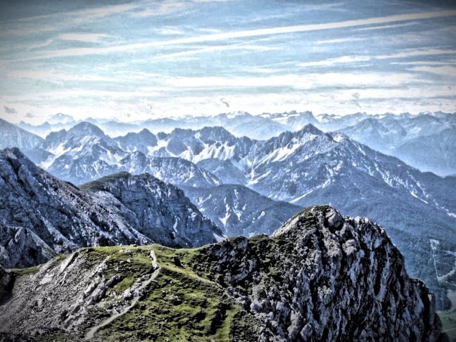 Klettersteig Mittenwald : Klettersteig mittenwalder höhenweg tour